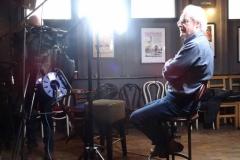 Sonas filming Maurice Leyden