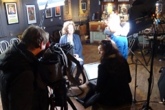 Sonas filming Jane Cassidy