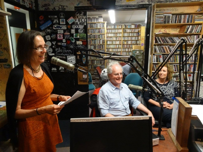 Live radio programme with Laura Travis and our friend Bonnie Milner, Connecticut June 2015