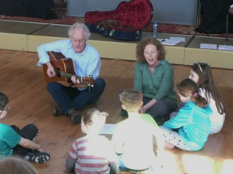 Ballyliffen Singing Festival Children's workshop 2015