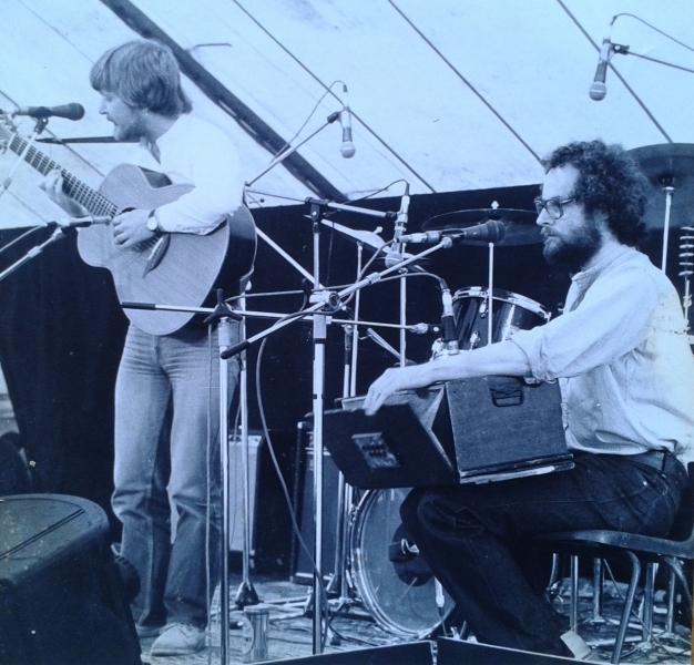 Conan McGrath & Maurice Leyden at Ballisodare Festival