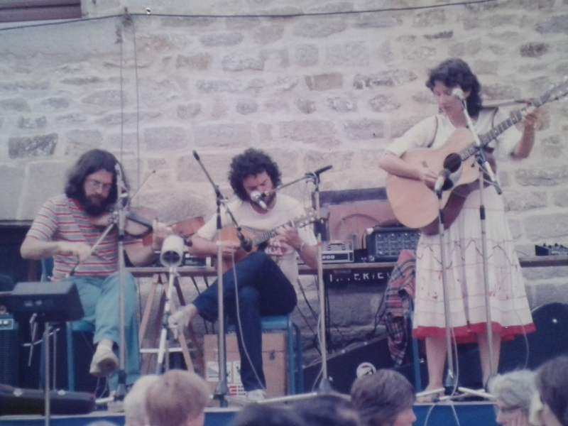 Padrig Sicard, Andy Irvine, Jane Cassidy