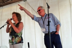 Jane & Maurice on main stage at 36th Sea Music Festival at Mystic USA
