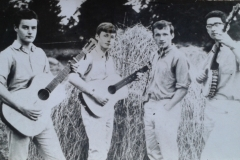 Maurice with The Folk Weavers 2