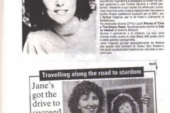 Release of Empty Road album 1985